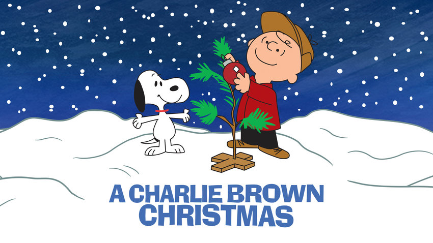 "This image released by Apple shows key art for the animated classic ""A Charlie Brown Christmas"" holiday special. Apple and PBS have teamed up for ad free broadcasts of the special and ""A Charlie Brown Thanksgiving.""  (Apple via AP)"