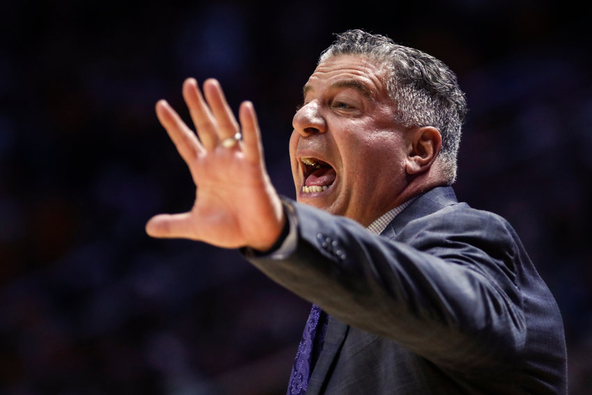 The Auburn basketball team won't participate in postseason play this season due to a self-imposed penalty.