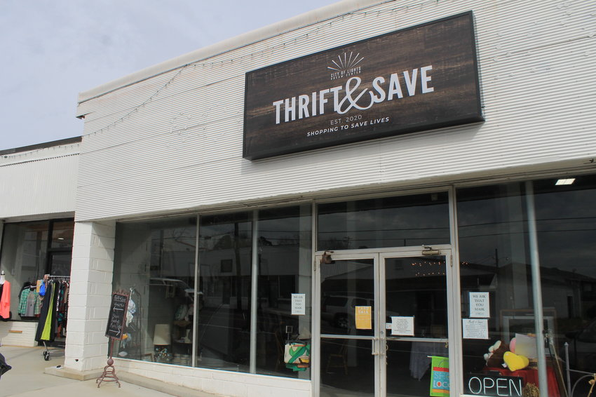 City of Lights Dream Center now operates a thrift store in downtown Sumiton. The store opened in September and recently expanded into an adjacent storefront.