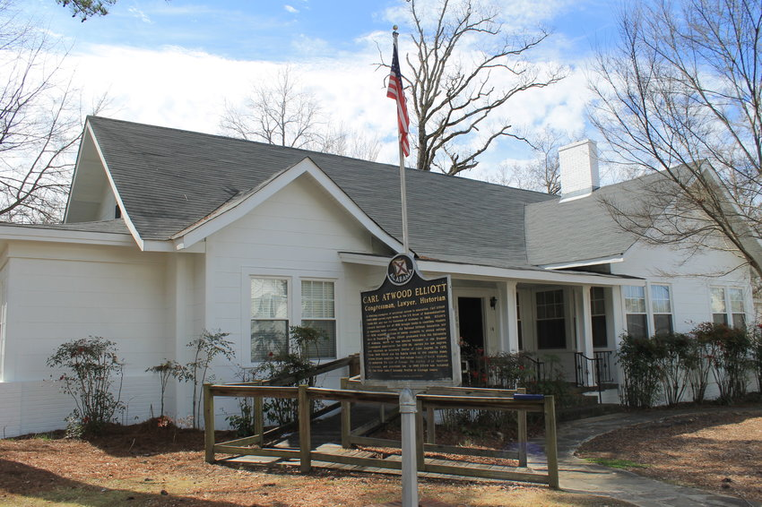 The Carl Elliott House Museum, located on Birmingham Avenue in Jasper, recently got a new roof, carpet, windows and exterior painting.
