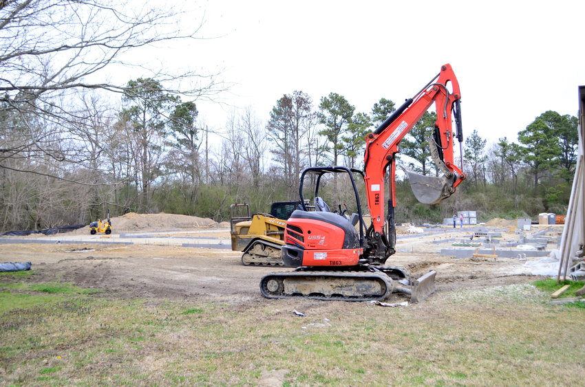 Construction for the longwall expansion project of the Alabama Mining Academy at Bevill State Community College is underway on the college's Sumiton campus.