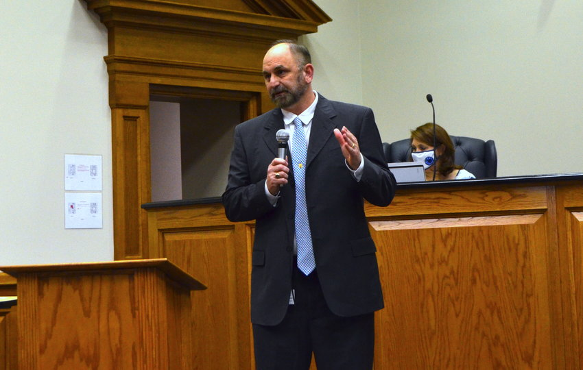 Walker County Schools Superintendent Dr. Dennis Willingham talks about the school system's five-year plan, Vision '24.