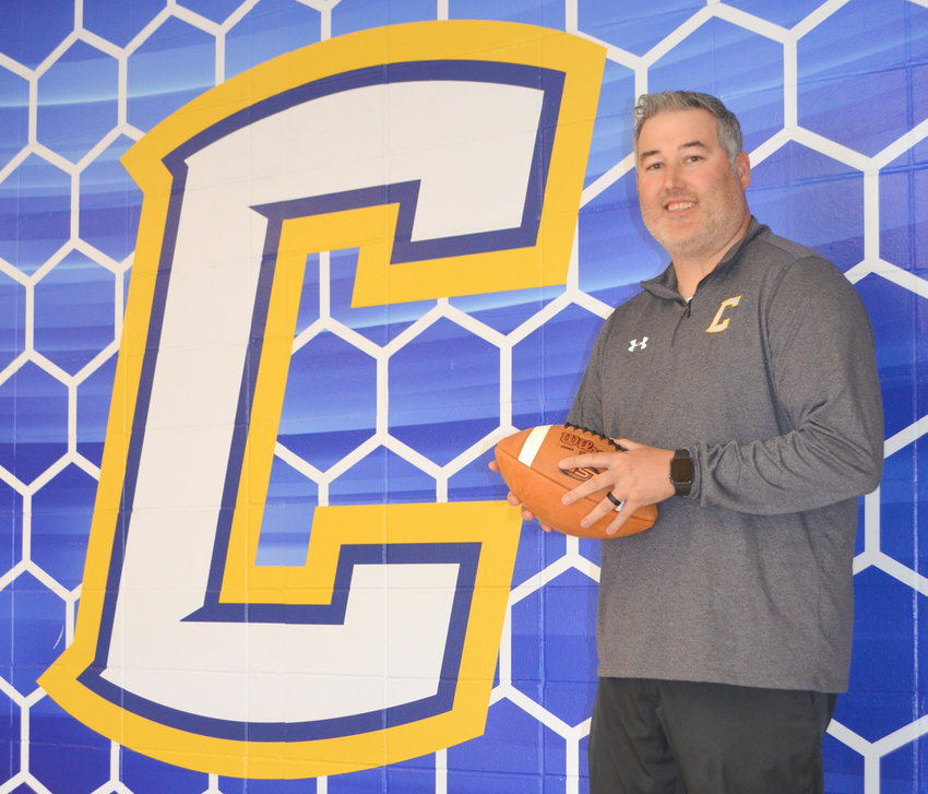 D.J. Emerson is the new head football coach at Curry High School. He was the offensive coordinator at Cordova last season.