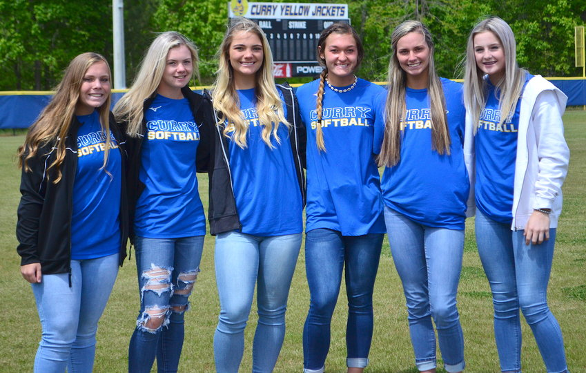 Curry's offensive leaders have the Yellow Jackets ranked first in the state in home runs. The Jackets hit four home runs on Friday and now hold the school record with 54 round-trippers.