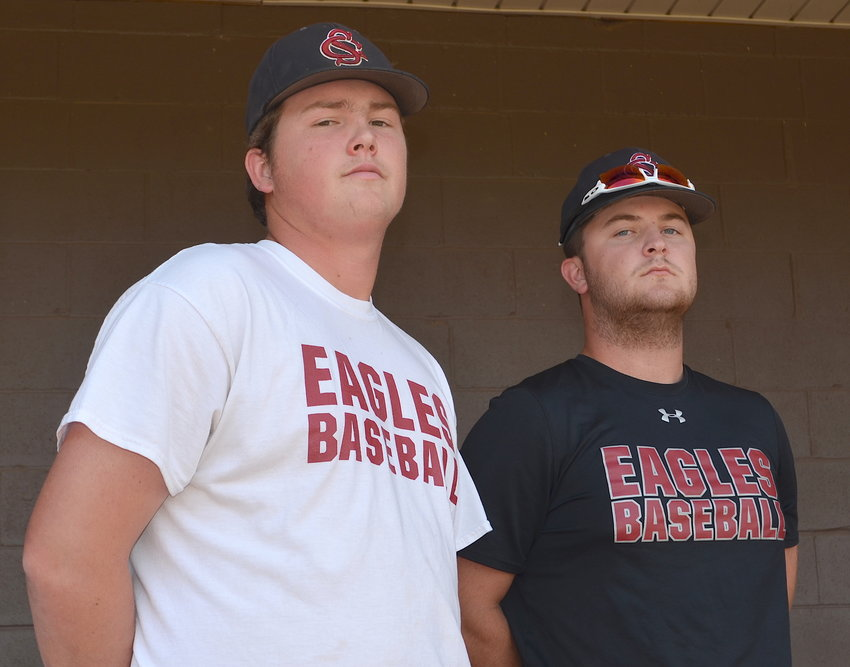 Sumiton Christian seniors Josh Allred, left, and Griffin Myers lead the Eagles against Covenant Christian Friday in their second-round matchup.