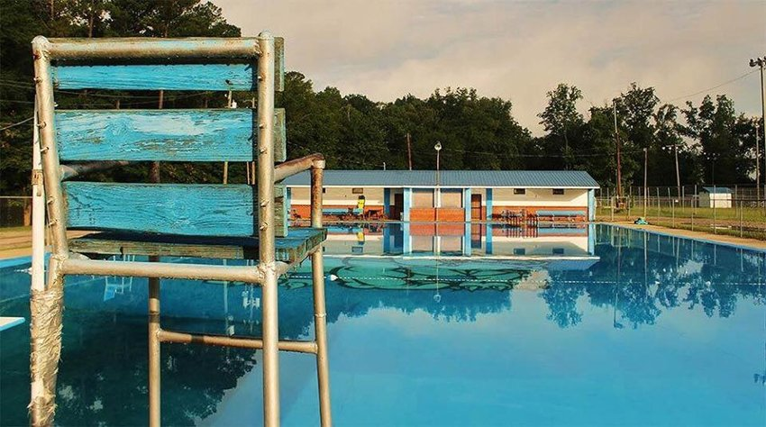 This Facebook image of the Carbon Hill pool can be seen from 2019.