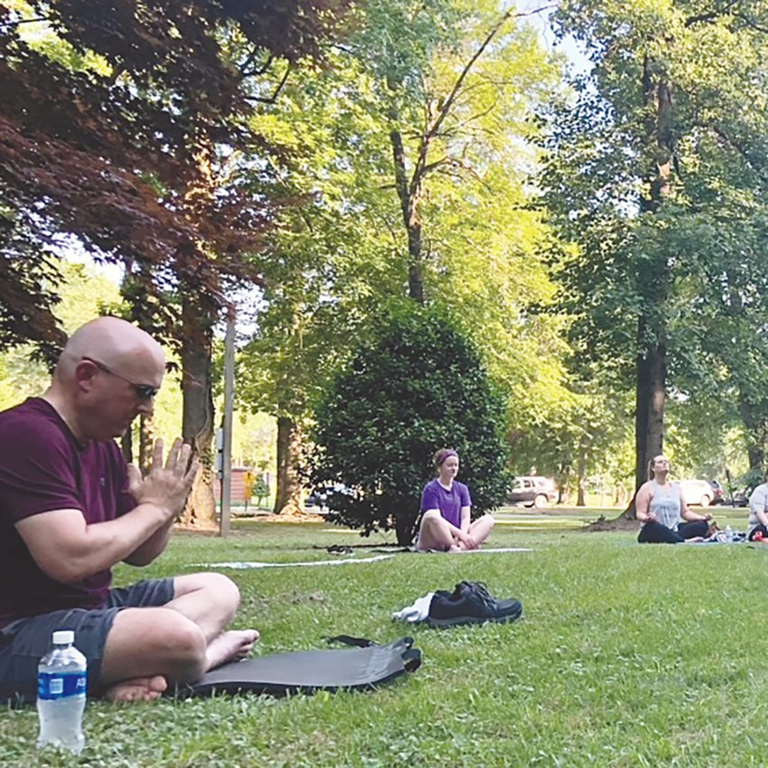 Local yoga instructor Deana Peek said yoga can benefit people of all ages and backgrounds.