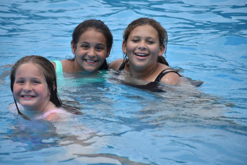 Patrons recently enjoy the Carbon Hill municipal pool on its opening weekend this year, on Memorial Day weekend.