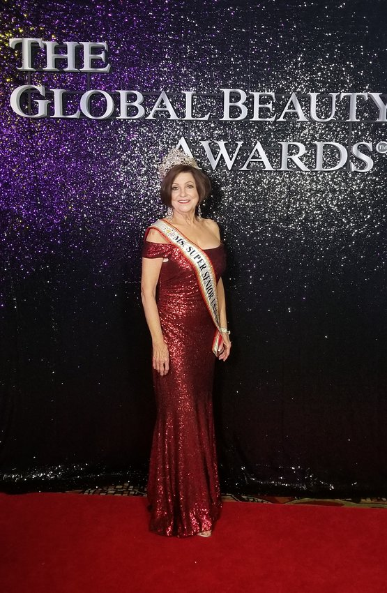 Sally Beth Vick, a Jasper resident and winner of the 2020 Pageantry Magazine Legend Award, attends the Global Beauty Awards in Seattle, Washington.