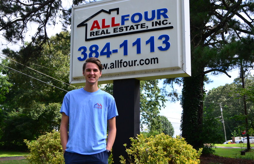 Hunter Poe is a first-year realtor with All Four Real Estate in Jasper.