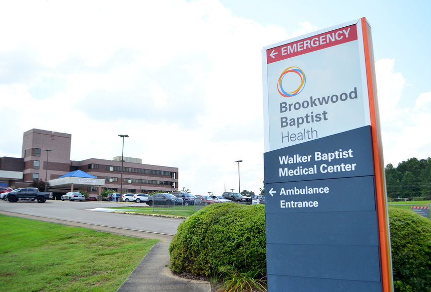 Visitor guidelines have been updated at Walker Baptist Medical Center as the number of people admitted to the hospital for COVID-19 nears 50.