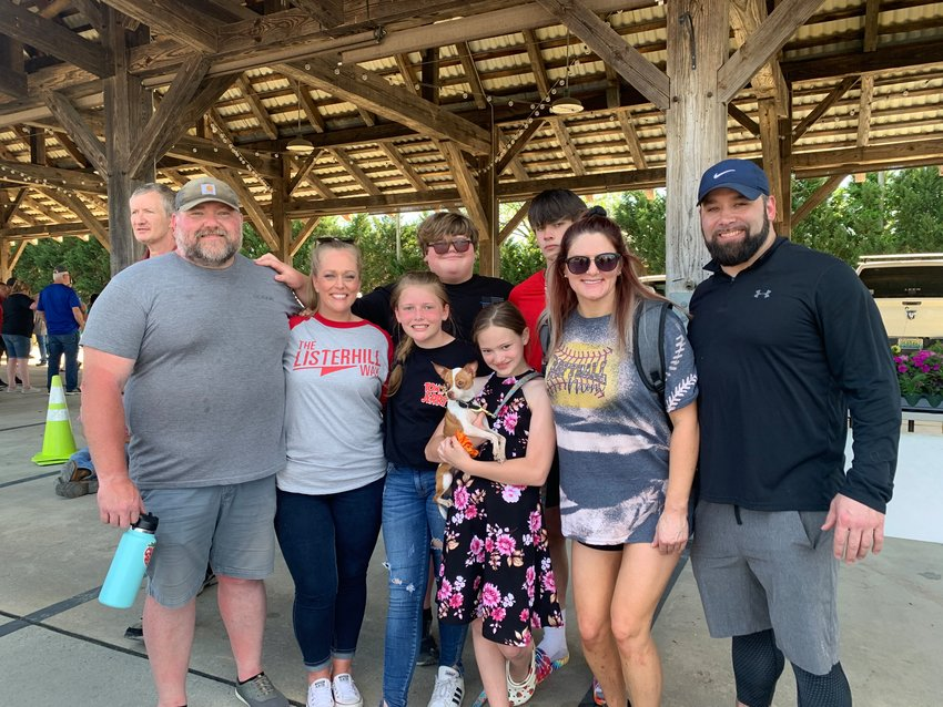 """Kayse Brown and her family enjoyed a day out together at the 2021 Strawberry Festival. """"Life is good,"""" Brown said of her more than six years in recovery."""
