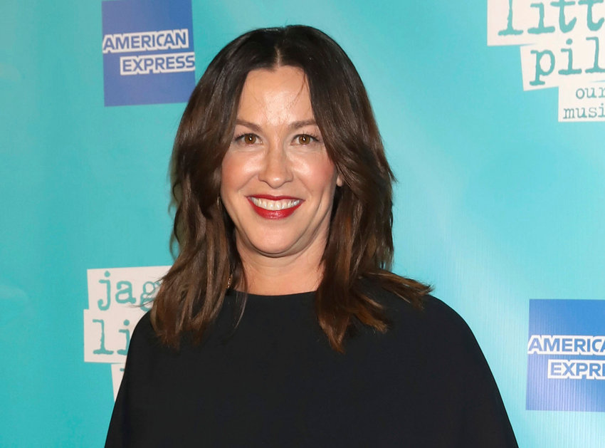 """Alanis Morissette attends the """"Jagged Little Pill"""" Broadway opening night at the Broadhurst Theatre on Thursday, Dec. 5, 2019, in New York. (Photo by Greg Allen/Invision/AP)"""