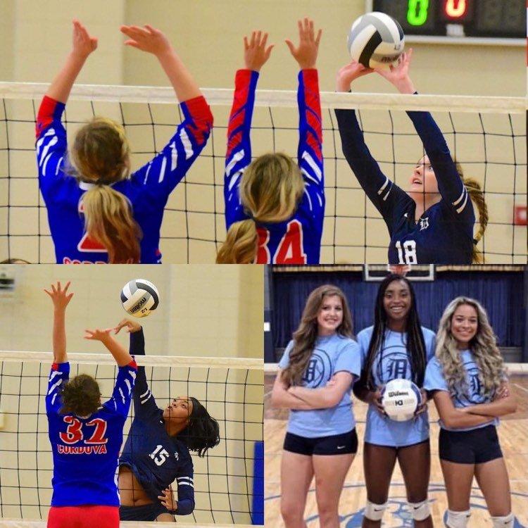 Dora seniors on this year's team are Nicole Ballenger, Ja'kiyah Womack and Becca Wade.