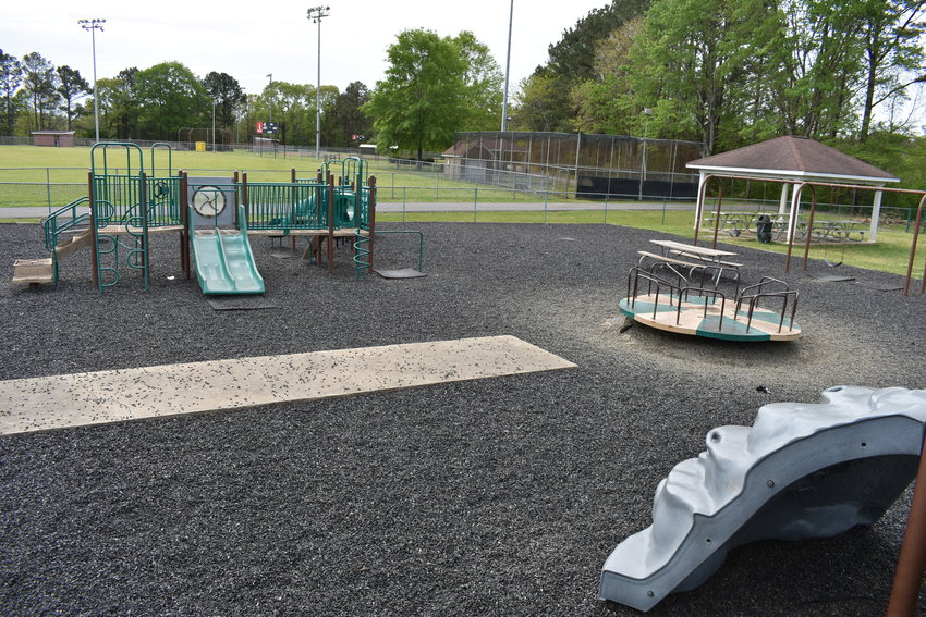 Renovations to the city playground were discussed recently by the Dora City Council in how best to use federal COVID-19 relief funds.