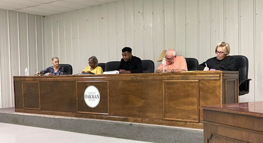 The Oakman Town Council voted Monday night to not renew the town's contract with Republic Services and to use the Walker County Solid Waste Department for garbage services.