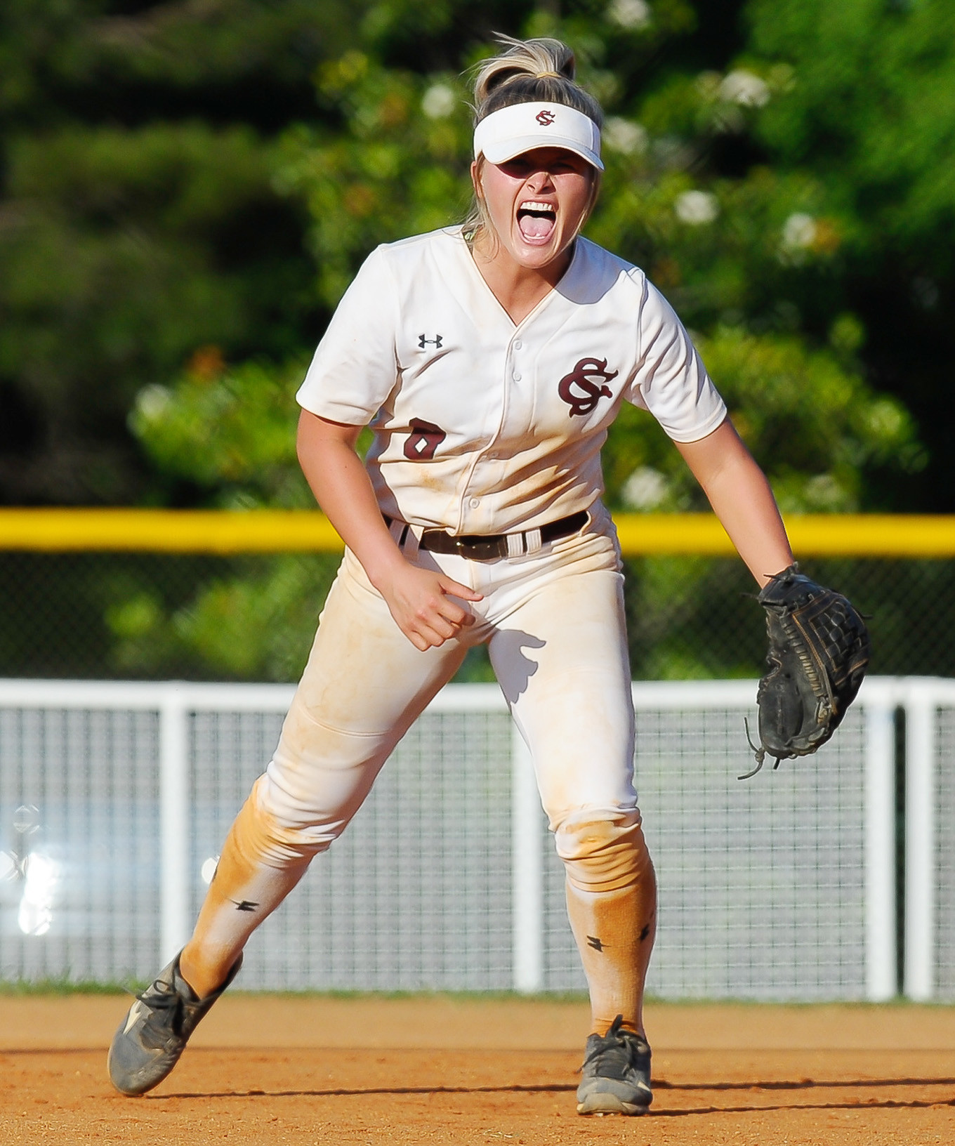 Sumiton Christian's Kendall Beth Sides was named the 2017 Gatorade Alabama Player of the Year Monday. The outfielder/shortstop helped lead the Eagles to their third consecutive state title last month. Sides, a University of Alabama signee, hit .606 this season with 109 runs, 13 home runs, 13 triples and 85 RBIs to go along with 99 stolen bases. Curry's Ashlee Swindle won the award last year. For more on Sides, see A8 of today's Eagle.  Daily Mountain Eagle - file photo.