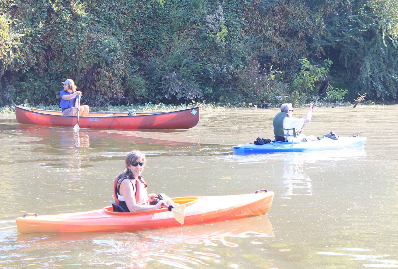 Paul Kennedy and his family were among the 50 paddlers who particiapted in Walker County Health Action Partnership's float trip in Cordova in October. A kayak race is planned for Sipsey in July.  DME file photo - Jennifer Cohron