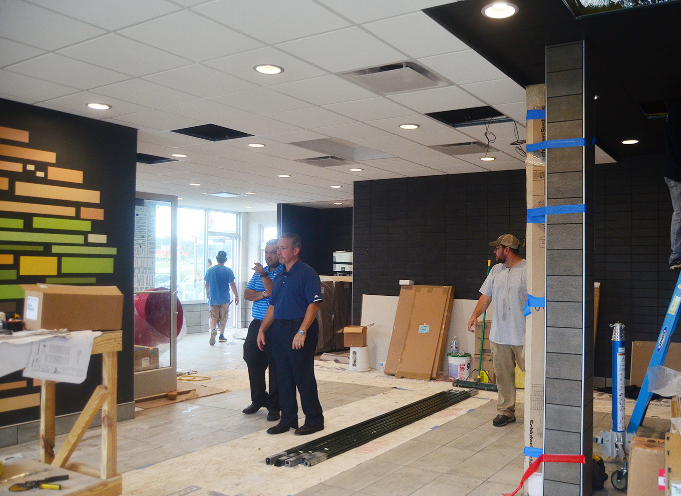 McDonald's in Dora has been undergoing a complete remodel in recent weeks and is set to reopen Tuesday.  Daily Mountain Eagle - Lea Rizzo