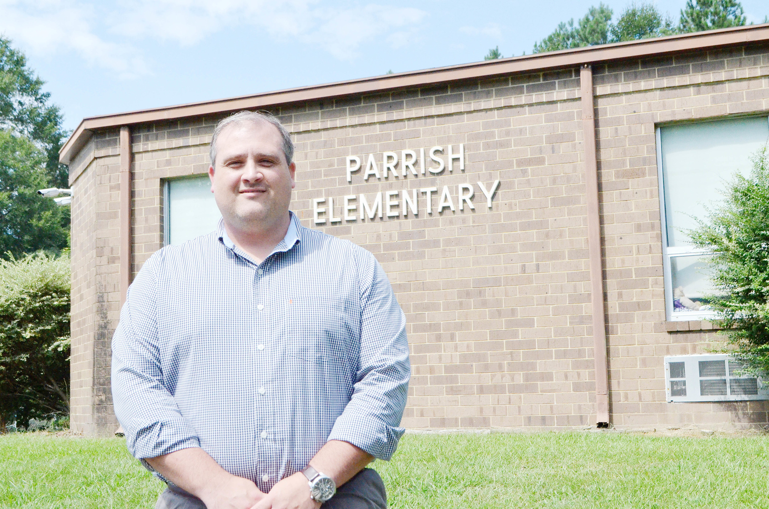Thomas Kyzer will lead Parrish Elementary during the upcoming school year as the school's new principal. Daily Mountain Eagle - Nicole Smith