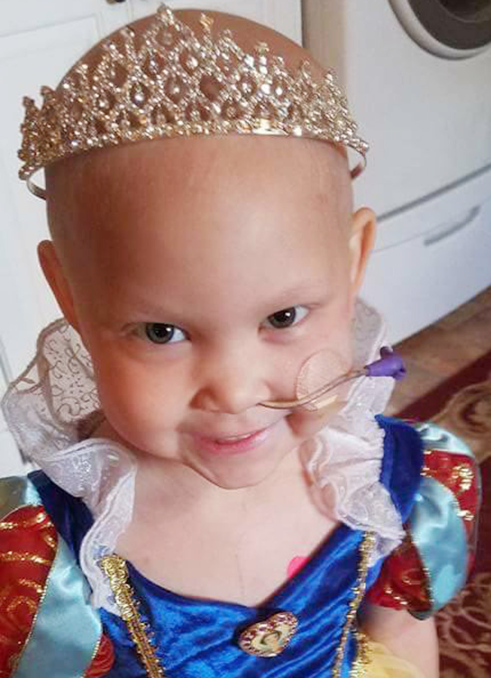 Natalie Bieberbach, 5, passed away Thursday after a long fight with leukemia. – Photo Special to the Eagle
