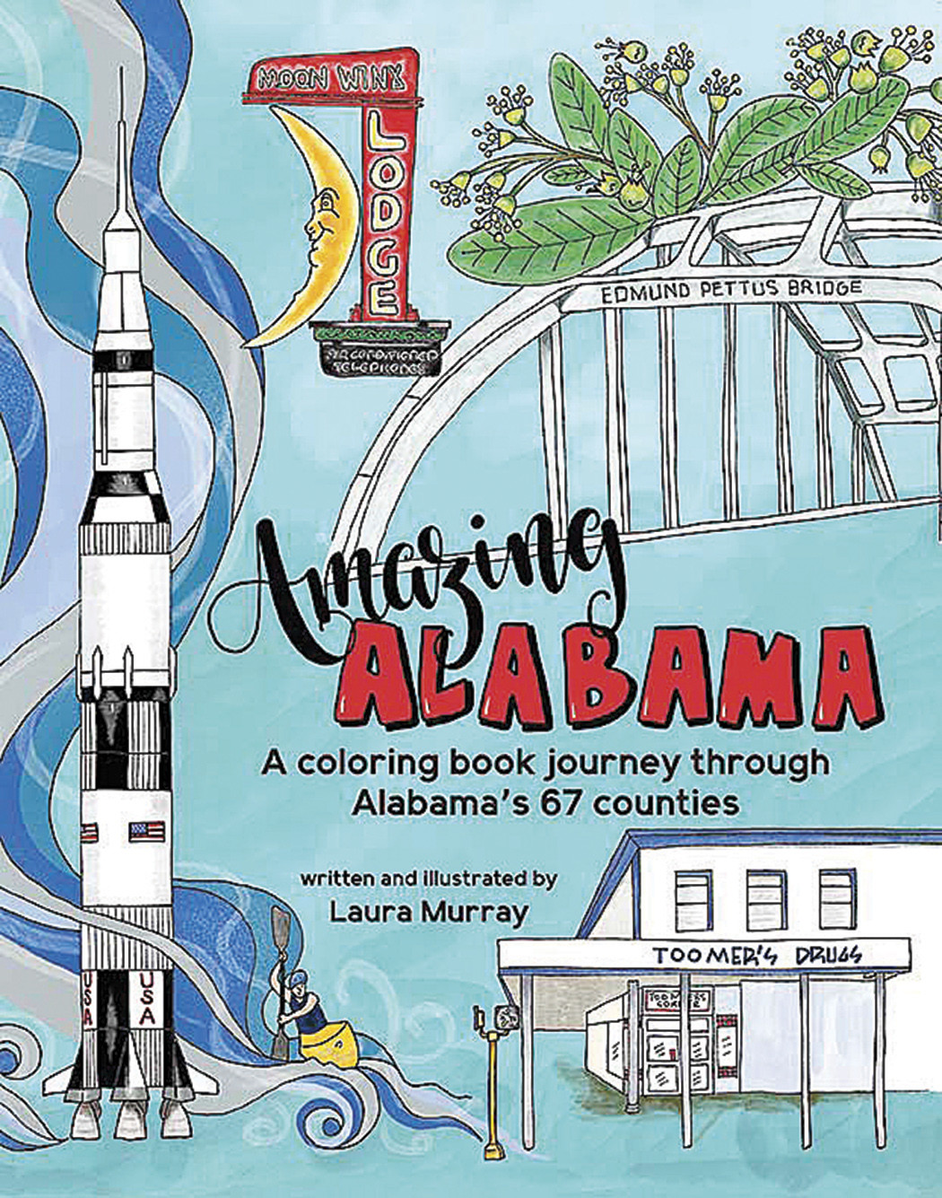 New coloring book spotlights all 67 Alabama counties