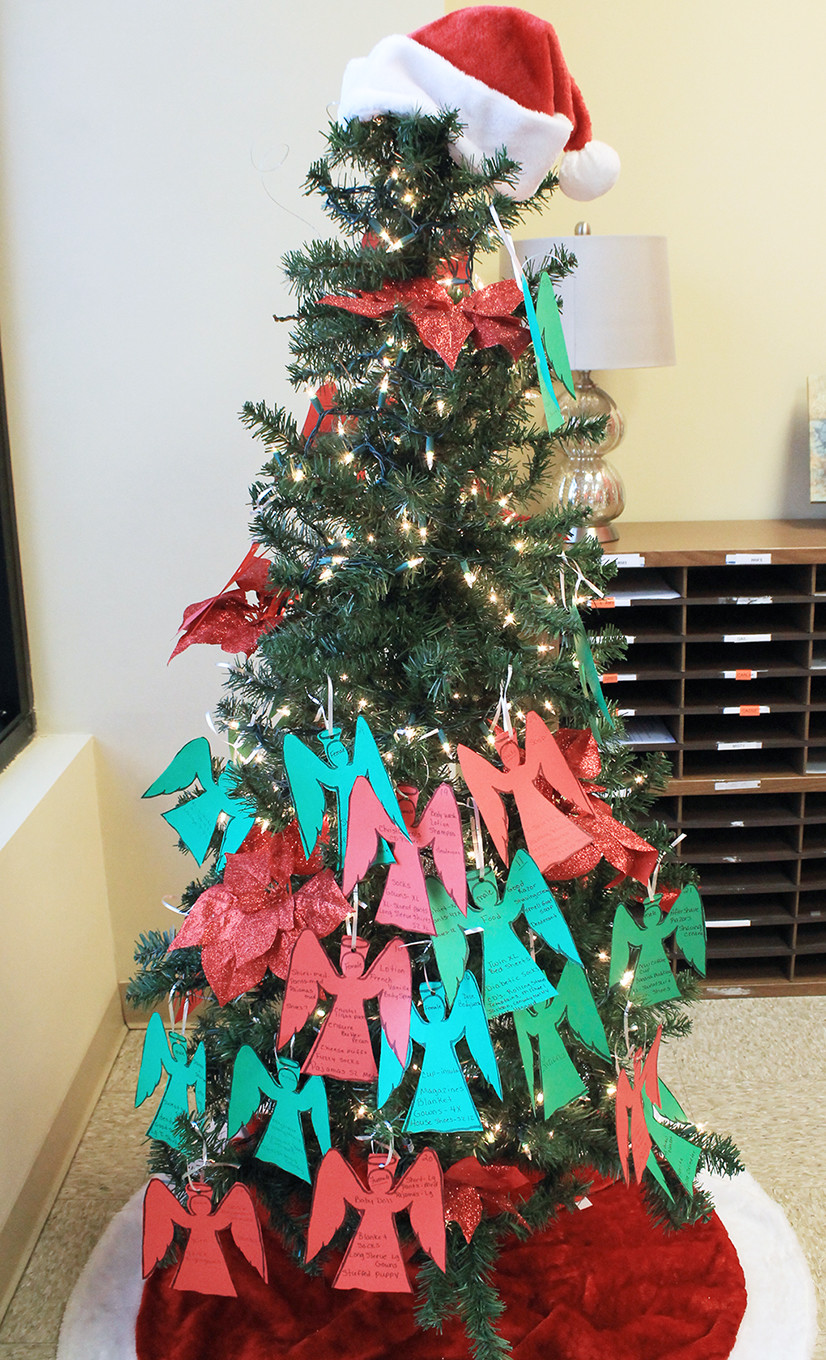 New Beacon Hospice has several requests still left on its Angel Tree. Gifts are due back to the New Beacon office on Airport Road by Dec. 18.