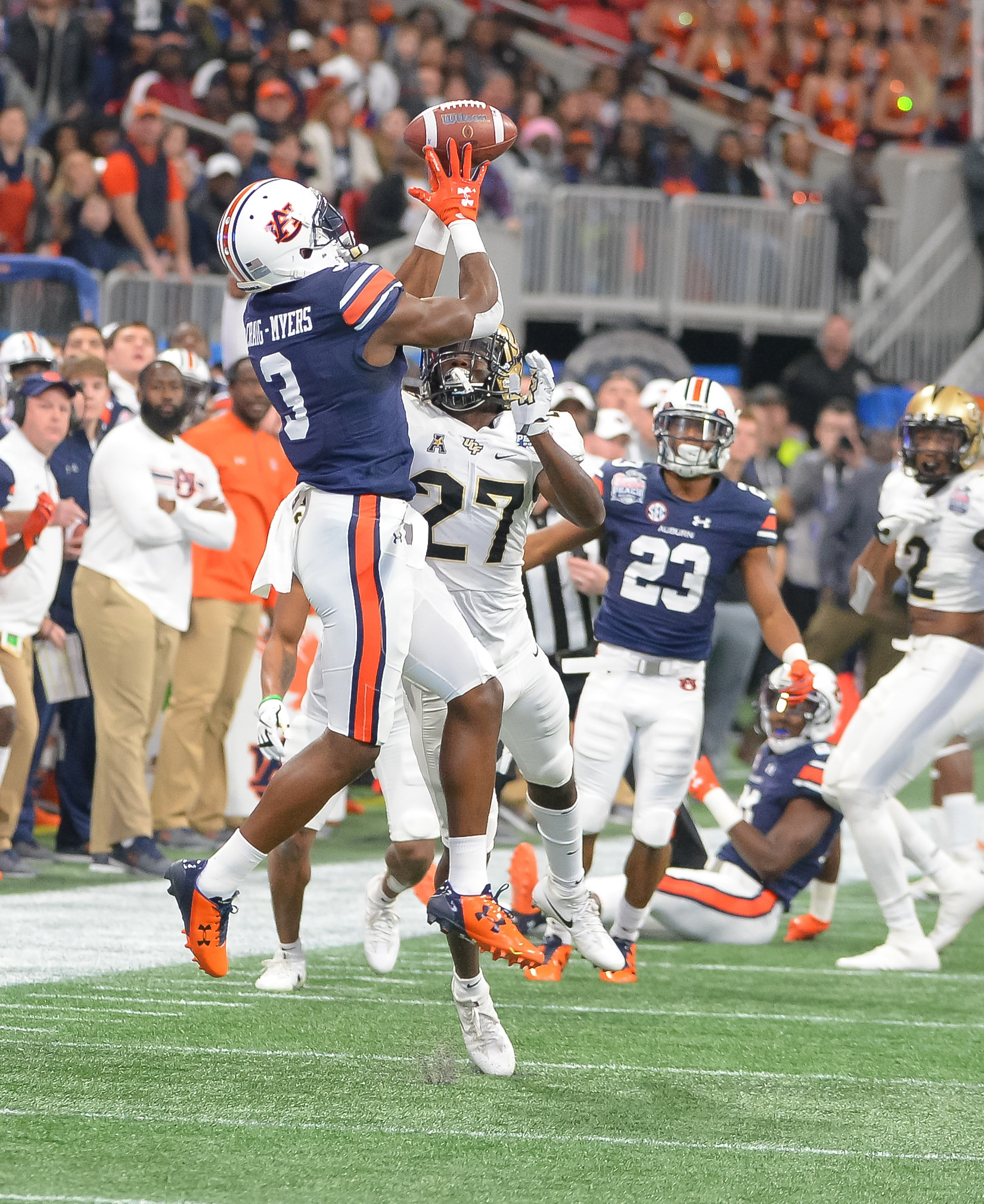 Photo Gallery: Auburn falls to UCF in Peach Bowl | Daily ...