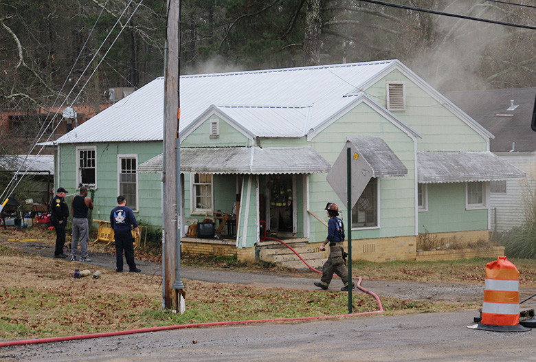 A residence on Indiana Avenue in Jasper was heavily damaged by fire on Wednesday. Jasper Fire Rescue, Jasper Police Department and Regional Paramedical Services responded to the structure fire around 11:15 a.m. Alan Clark, deputy fire chief and fire marshal for Jasper Fire Rescue, said the fire caused major damage to the home's kitchen and attic. The home was reportedly being rented and only person was home at the time. No injuries were reported.