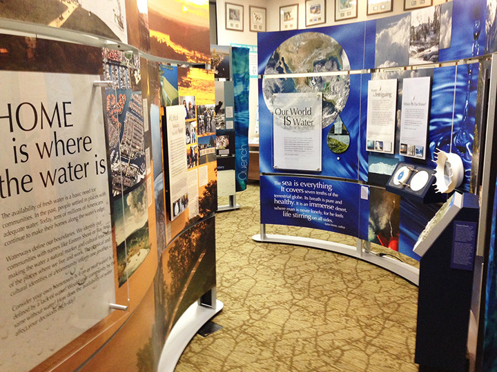 """Water/Ways,"" a traveling exhibit of the Smithsonian Institution, opens Tuesday at the Bankhead House and Heritage Center. Admission is free."
