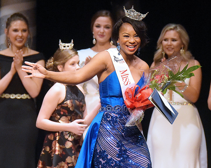 Chassidy Sumler, a 24-year-old graduate student at UAB pursuing a  master's degree in biology, was crowned the 2018 Miss Walker County Saturday night at Rowland Hall at Bevill State Community College in Jasper. For more photos from the pageant, go to the Daily Mountain Eagle's Facebook page