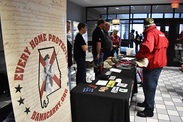 BamaCarry held its annual statewide gunowners rights meeting — called the Freedom Conference — in Jasper Saturday, with more than 200 people expected on hand.