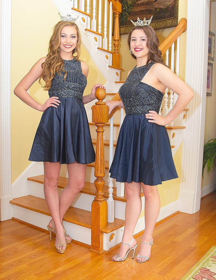 Miss Heart of Dixie's Outstanding Teen Ashley Taylor of Hayden, at left, and Miss Walker County's Outstanding Teen Lorin O'Rear of Jasper, at right, will compete next weekend in the 2018 Miss Alabama's Outstanding Teen Pageant at B.B. Comer High School in Sylacauga. Saturday performances will be at 2 p.m. and 7 p.m., with Sunday's performance at 2 p.m. Special guests will be Miss America's Outstanding Teen Jessica Baeder and Miss Alabama 