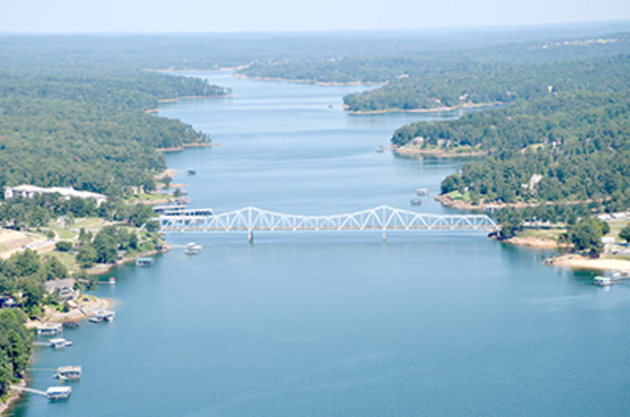 Lewis Smith Lake, as seen in this aerial photo from 2012, is one of the cleanest lakes in the state according to Alabama Water Watch, a volunteer-led water quality monitoring program. File photo- Ron Harris