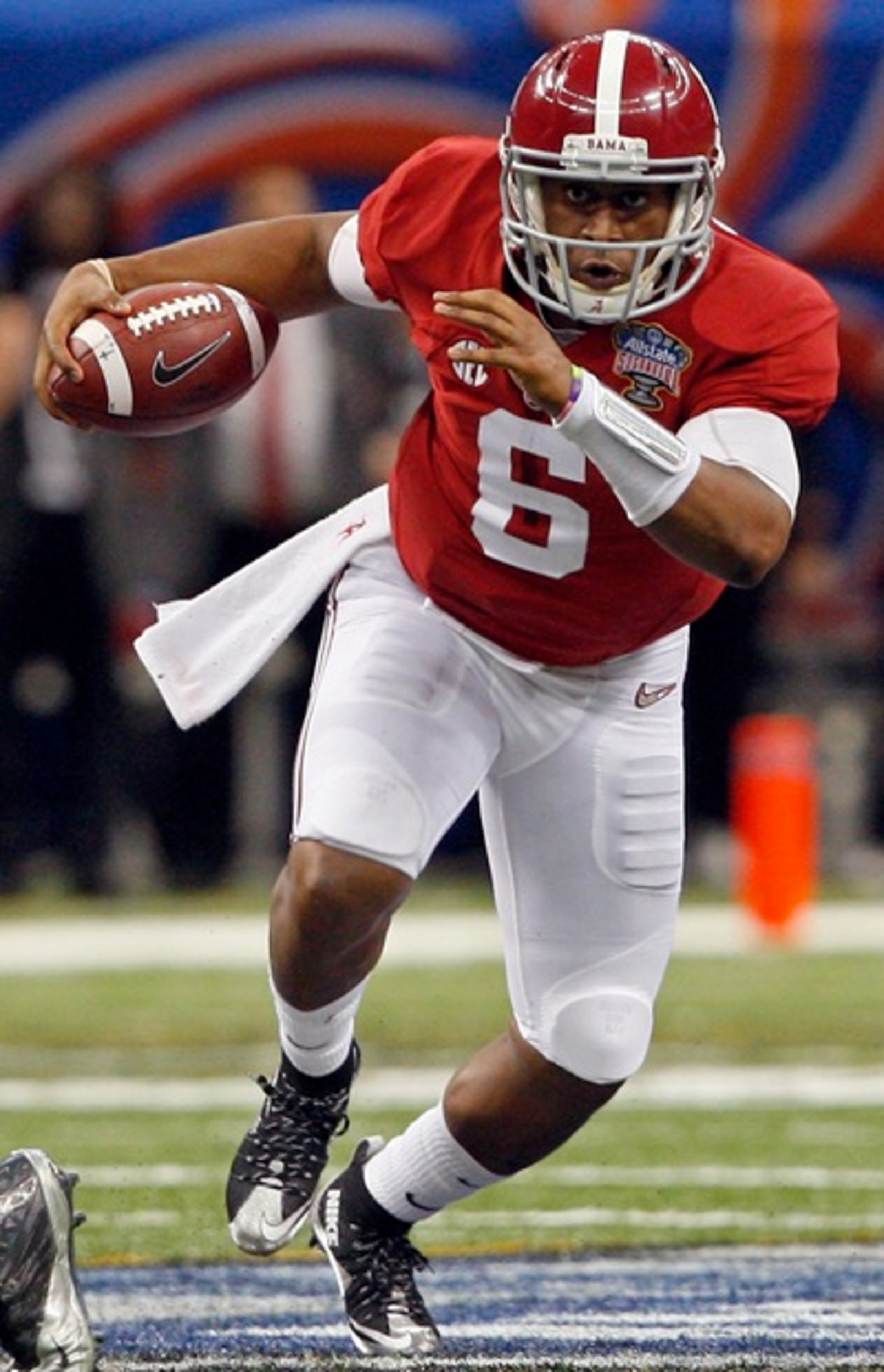 Blake Sims Alabama Crimson Tide Football Jersey-Red