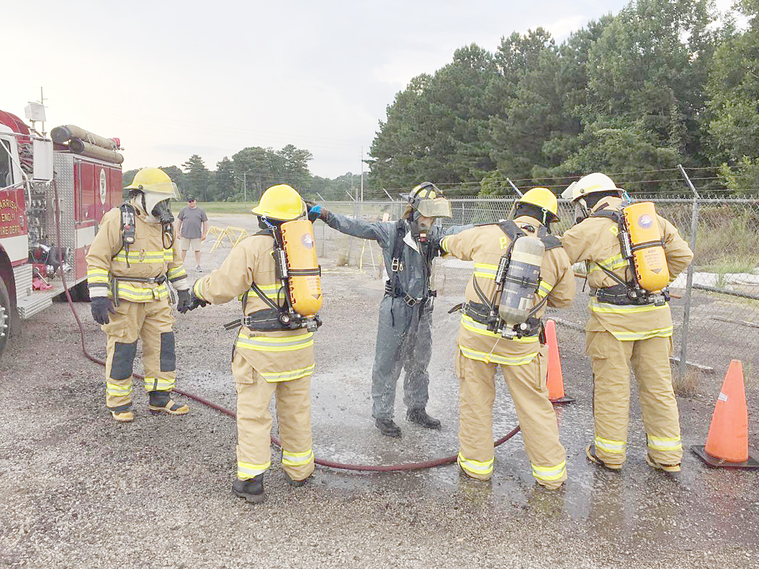 how to train to become a volunteer firefighter