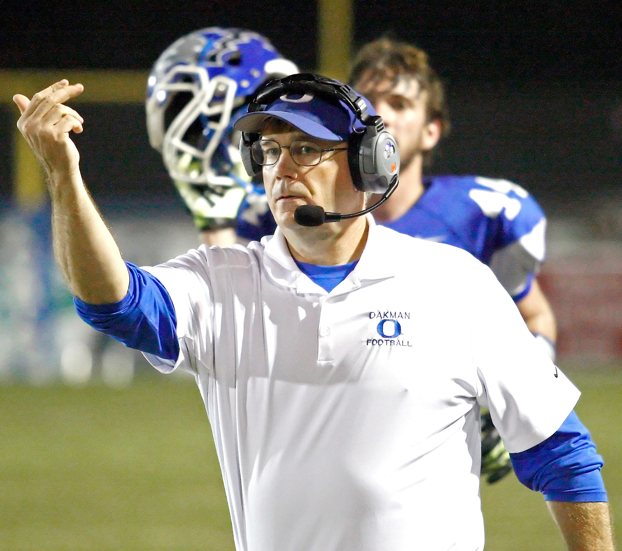 Oakman coach Mark Hastings guided the Wildcats to the Class 3A state quarterfinals last year. Oakman has averaged 9.2 wins over the last five years.