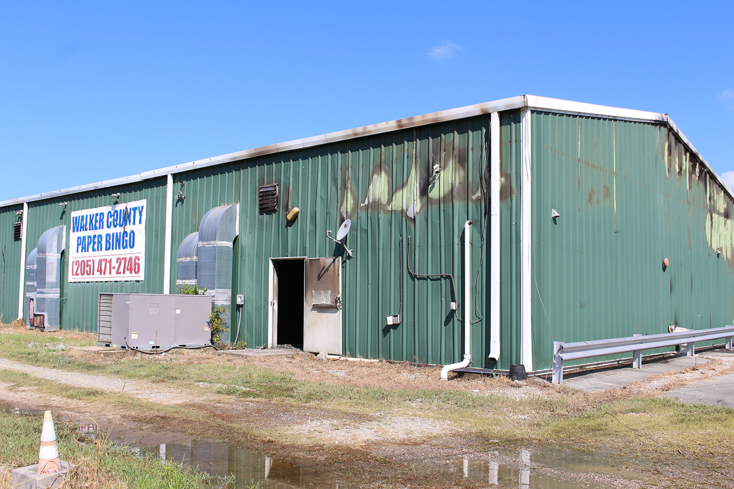 State fire marshals have ruled a fire that heavily damaged the Walker County Paper Bingo Hall in Jasper was arson.  Daily Mountain Eagle - Elane Jones