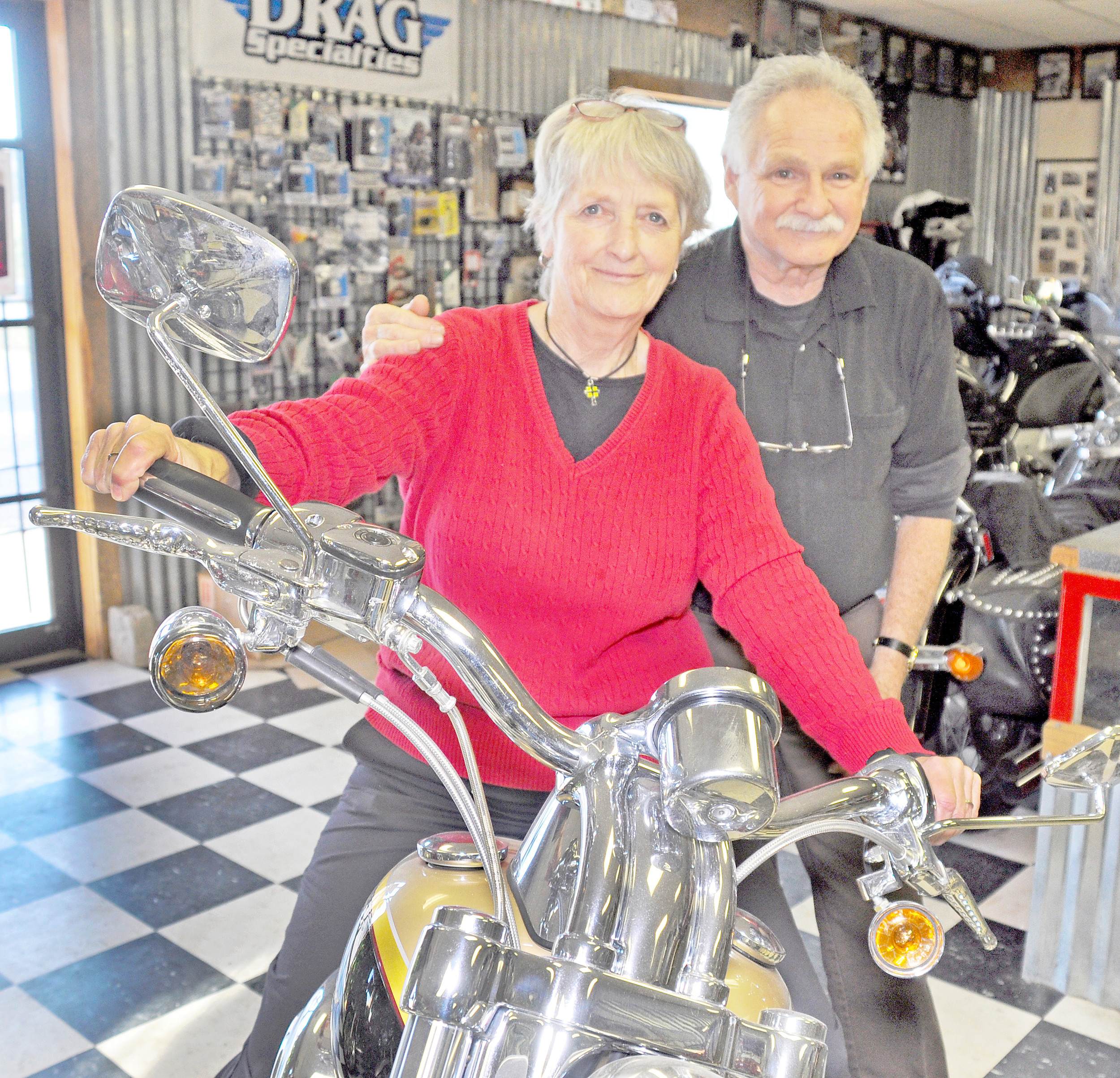 Jasper Couple Bonds Over Love Of Motorcycles Daily Mountain Eagle