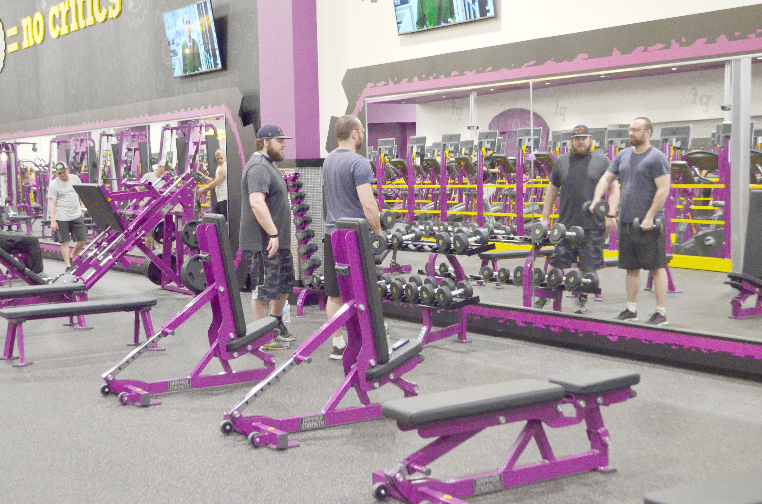 New Planet Fitness Popular In Jasper Daily Mountain Eagle