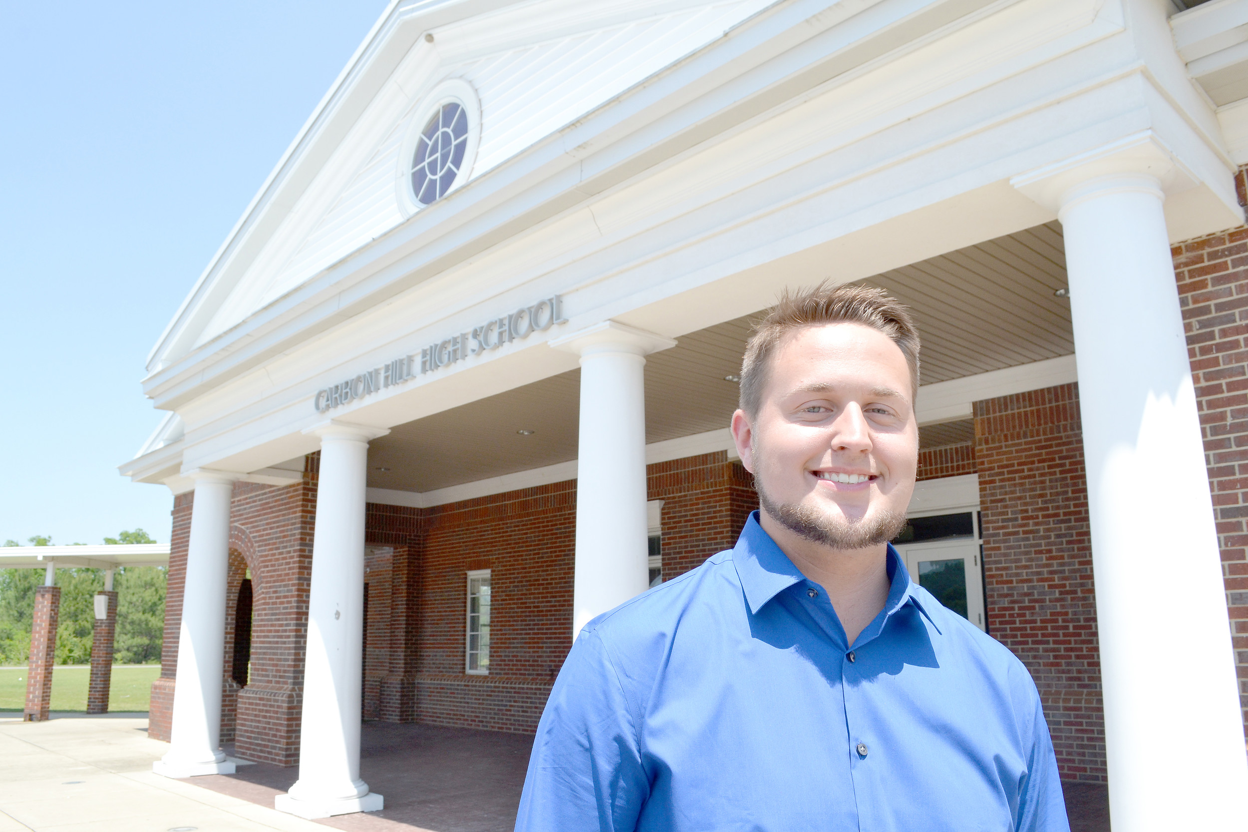 Gunner Wise, who is graduating from Carbon Hill High School this week, is known as a member of the Bulldogs' golf team, but also as a likeable, quiet leader behind the scenes on campus. Daily Mountain Eagle - Ed Howell
