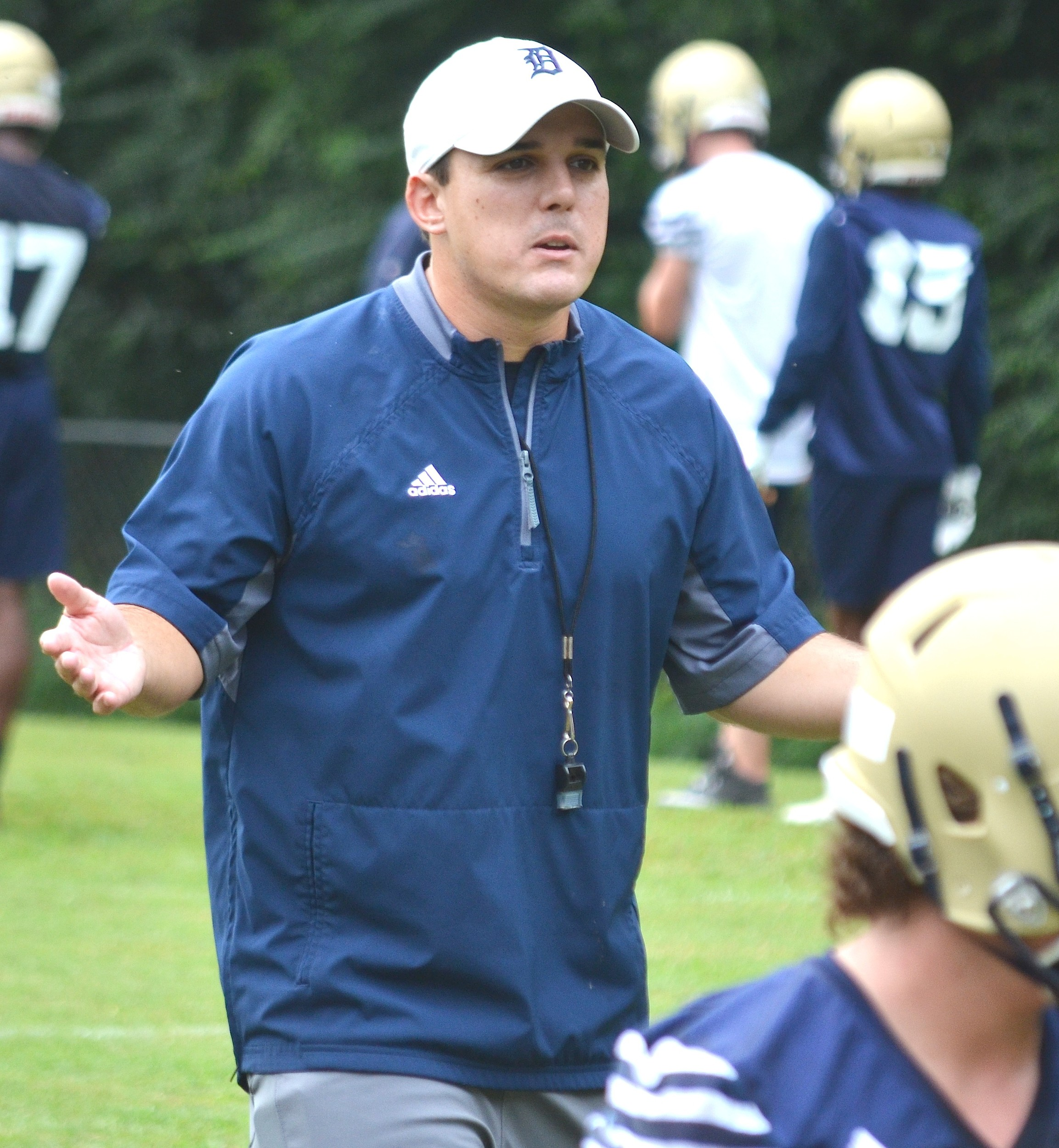 Bart Lockhart is the new head coach at Dora High School following two years at Sumiton Christian.