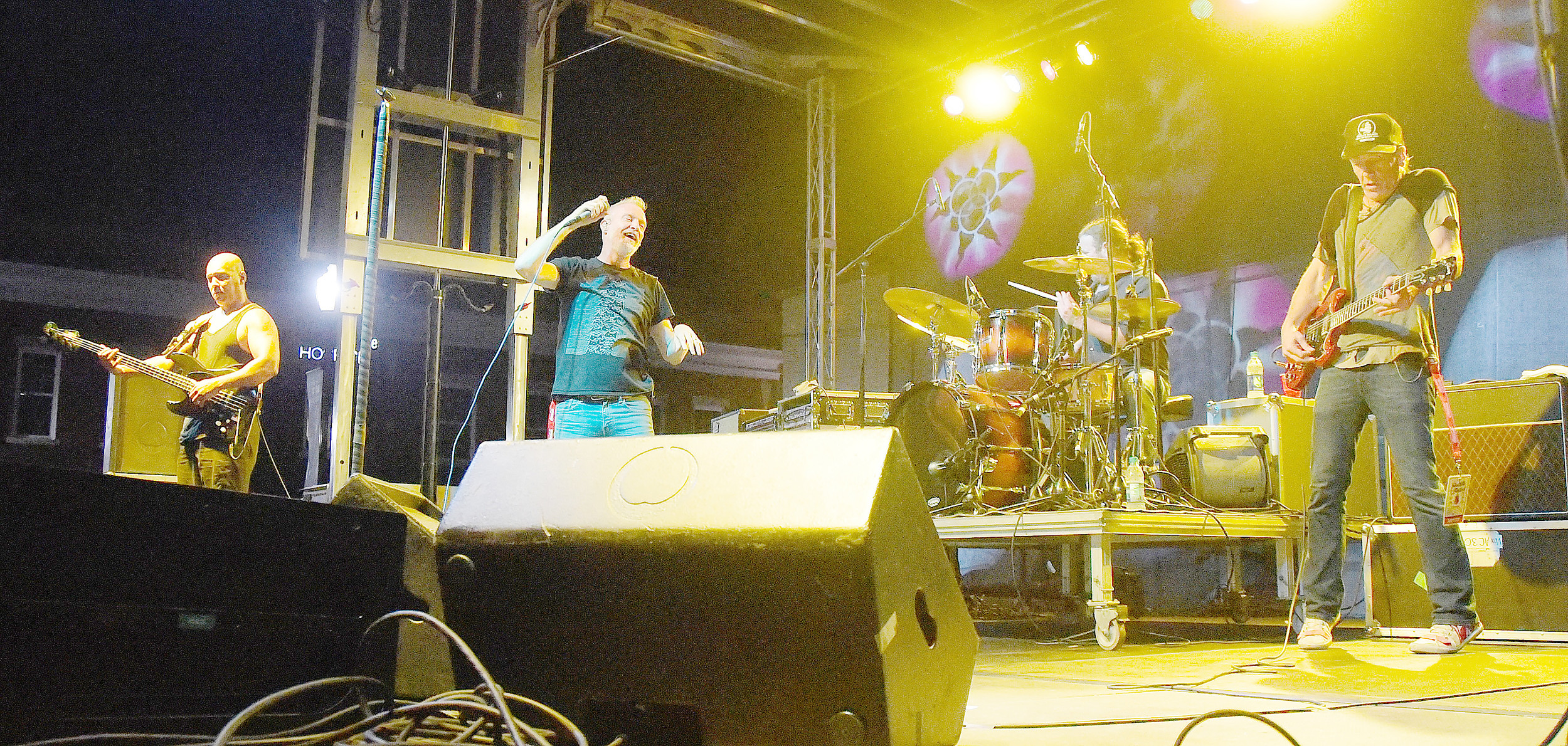 Spin Doctors were the headlining act Saturday night as the 2017 Foothills Festival came to a close. The event was deemed a huge success by event organizers. Daily Mountain Eagle - Ron Harris