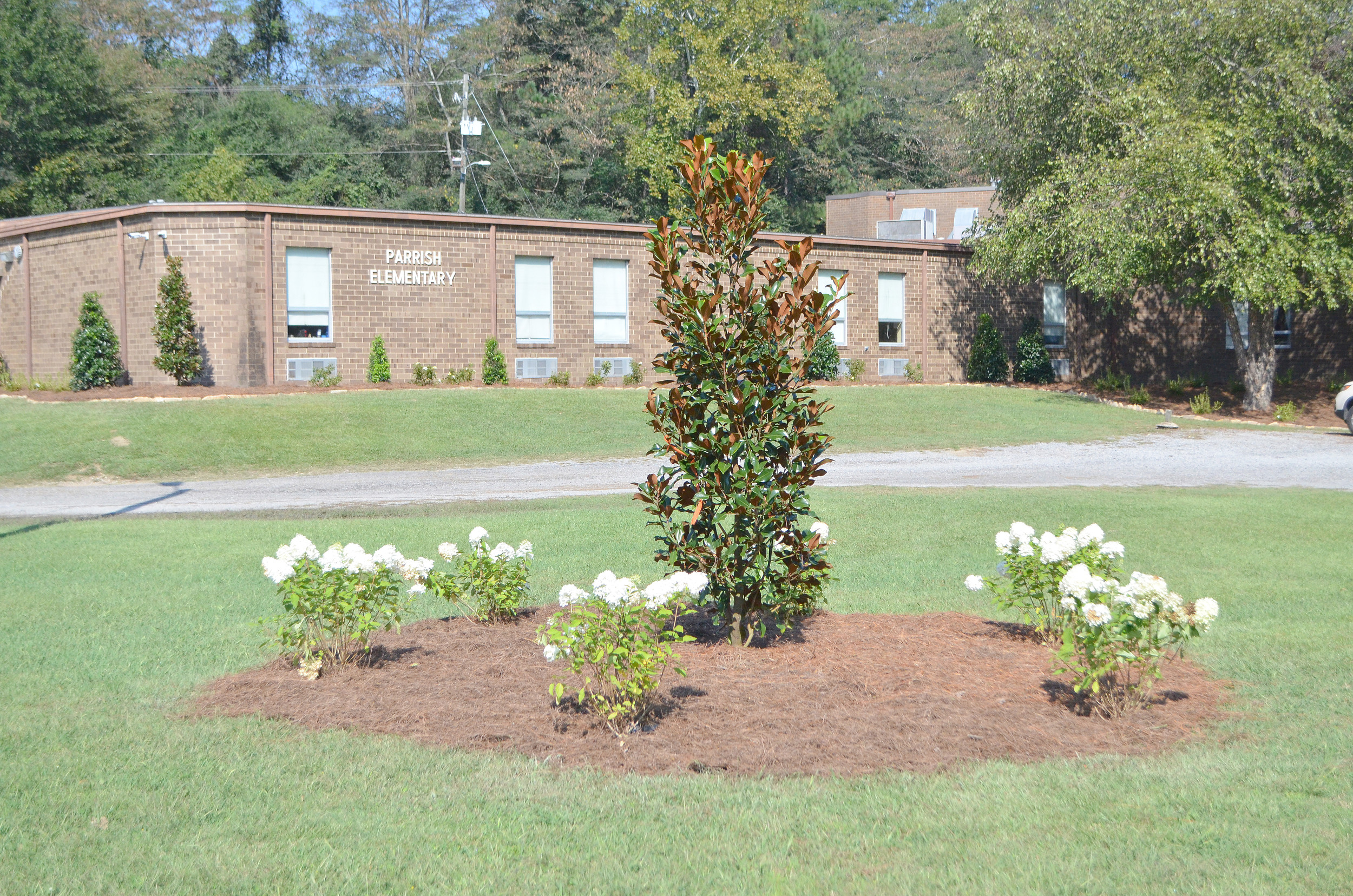 Parrish Elementary School recently received new landscaping and will receive a new gym floor and roof in 2018 and 2019 as part of the Walker County Board of Education's 5-year capital plan. Daily Mountain Eagle - Nicole Smith