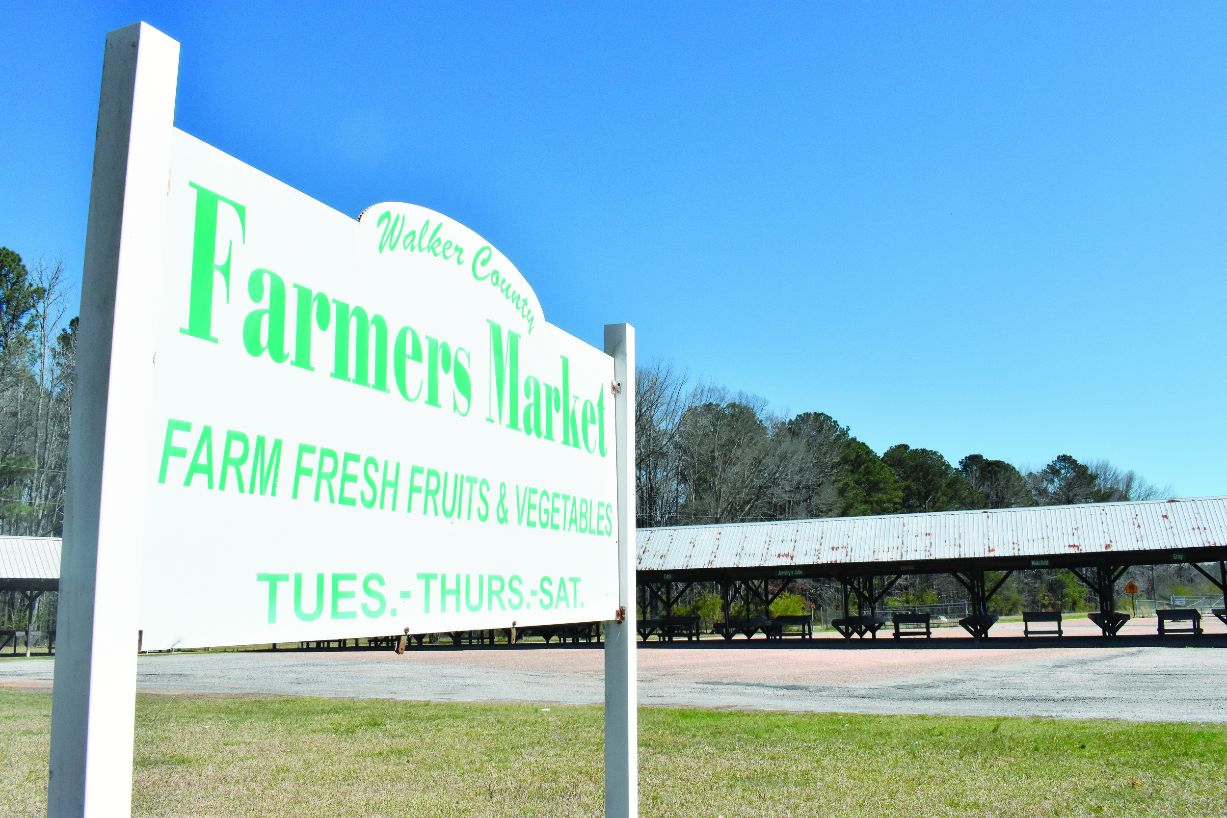 The Walker County Commission says it has no responsibility over concerns about what is sold at the Walker County Farmer's Market in Jasper, as the county only leases the land for it.