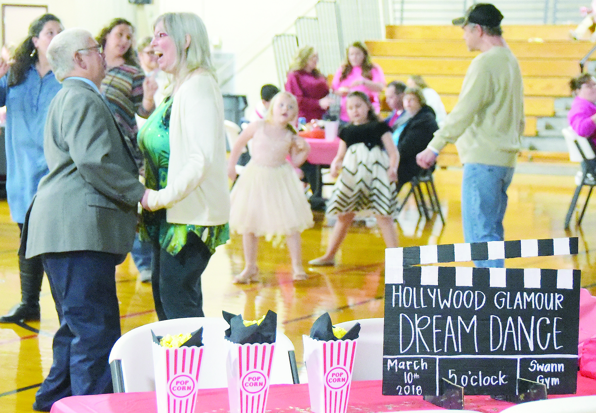 Special needs adults from across Walker County were treated to a 'Hollywood Glamour' Dream Dance Saturday night at Swann Gym in Jasper. The cance, now in its fifth year, is organized each year by Anna-Kate Gilbert.