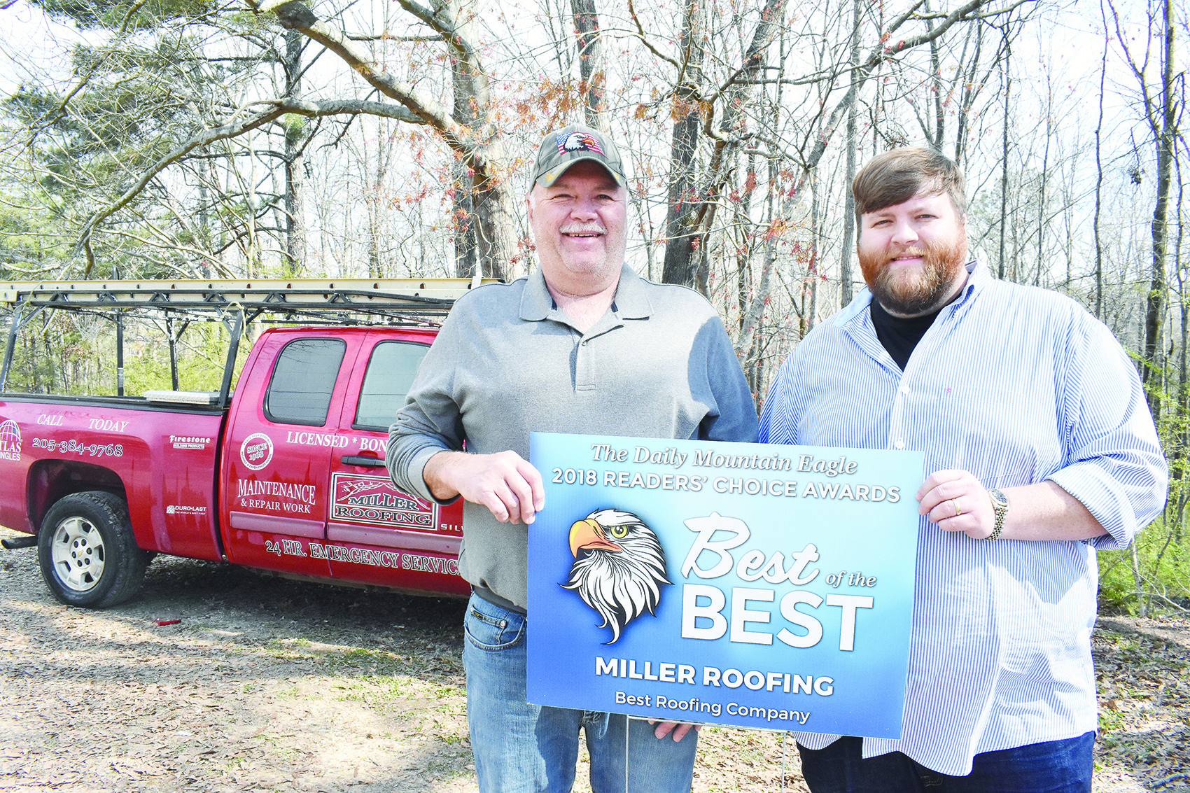 Miller Roofing Moves Back Home In 50th Year Daily Mountain Eagle