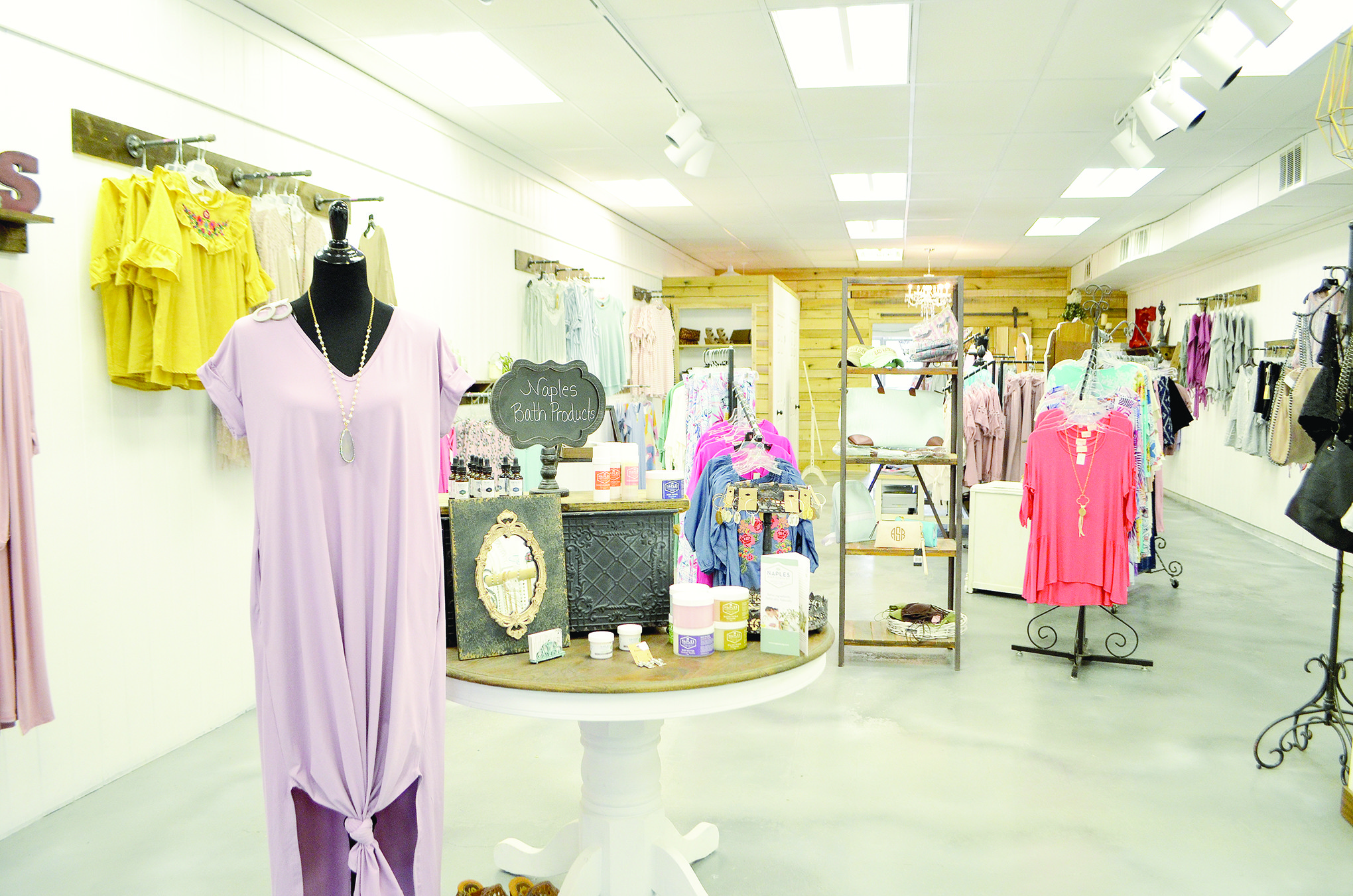 Ella's Boutique recently relocated to downtown Jasper and is one of many businesses popping up in the district.