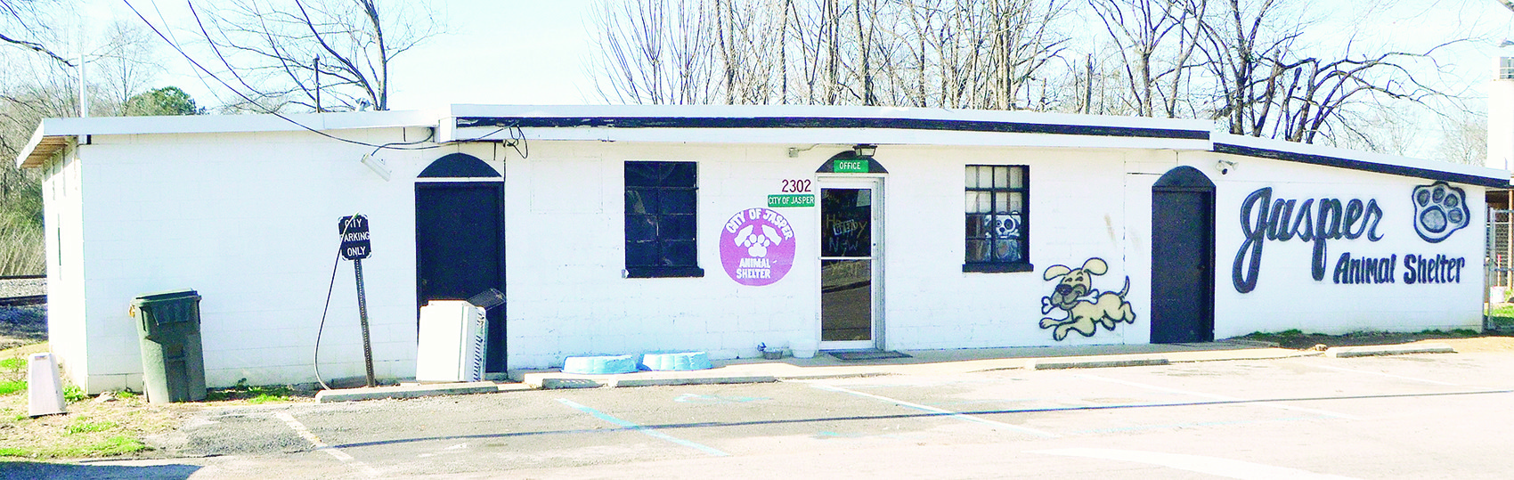 Jasper Mayor David O'Mary hopes the city will have a new animal shelter in the months ahead.