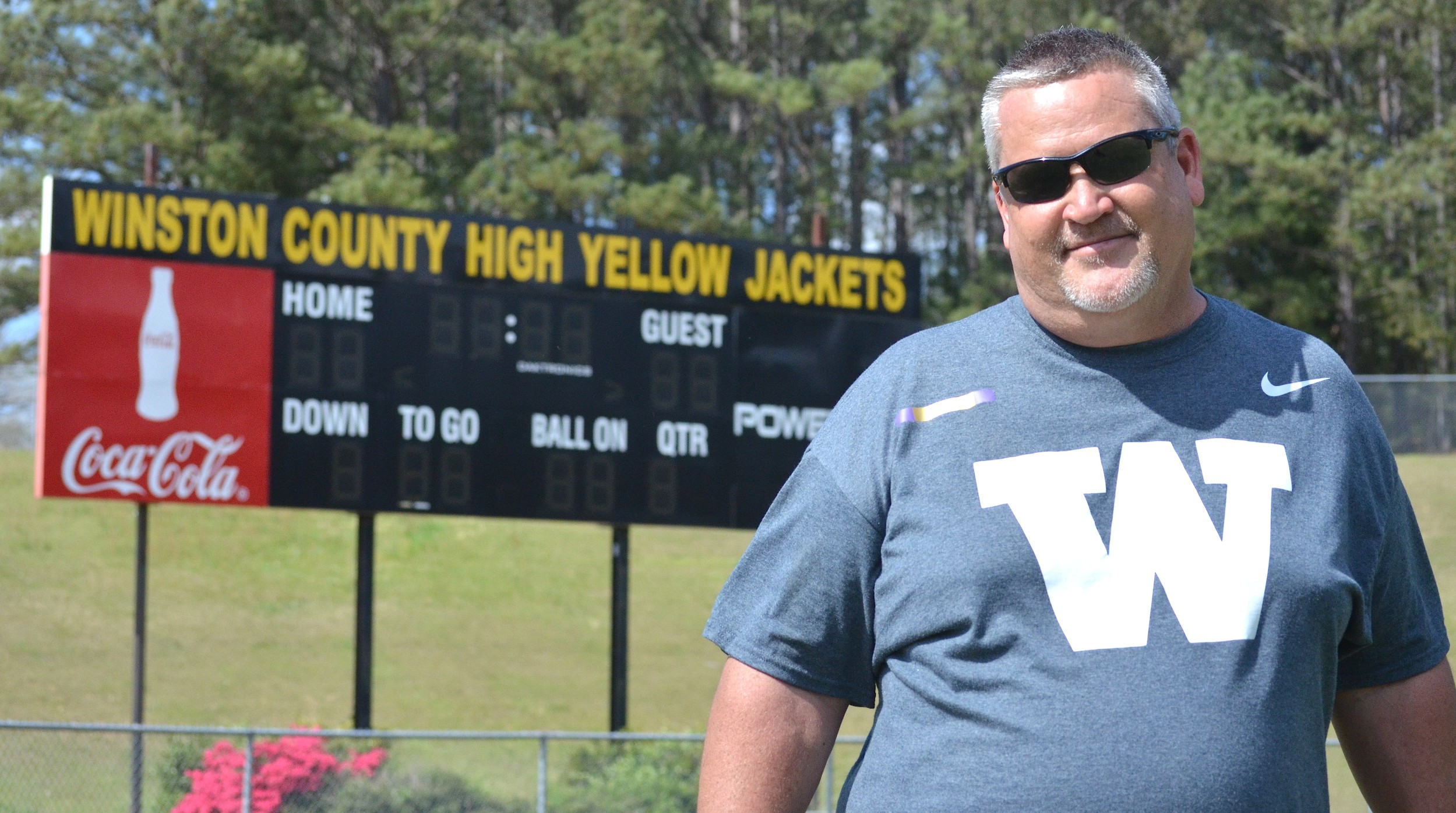 New Winston County coach Mark Mitchell takes over the school's football program after serving as the offensive coordinator at Piedmont High School for the last five years. The Yellow Jackets are coming off back-to-back losing seasons.